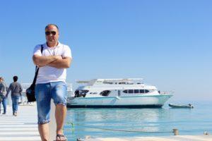 Экскурсия на катере в Египте