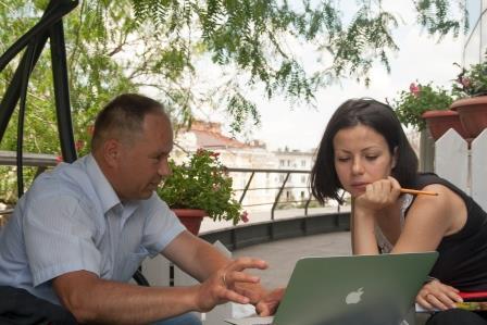 Бизнес-консультант Валерий Дубинецкий, магазин White Story