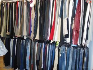 Остатки одежды, как избавиться